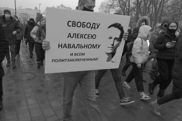 Лидер штаба Навального в Липецке провёл очередную акцию протеста в полиции