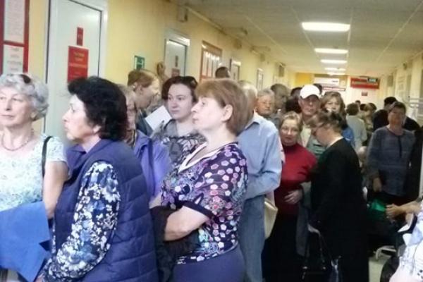 Конфликт липчан со «Строймастером» из-за точечной застройки перешёл в поликлинику