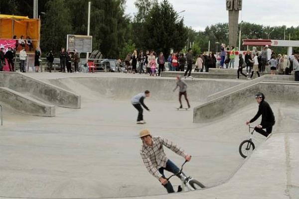 В Липецке презентовали проект Экстрим-парка стоимостью 500 млн рублей