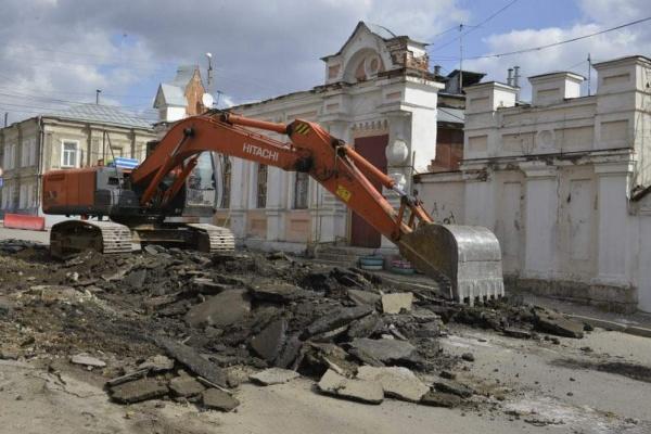 В Липецкой области разрушают уникальный белокаменный плитуар