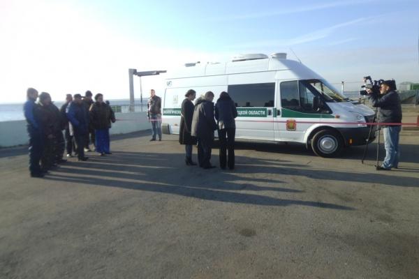 В Липецке за 13 млн. рублей открыли экологический передвижной пост