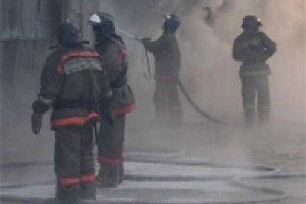 На НЛМК тушили пожар по повышенному рангу