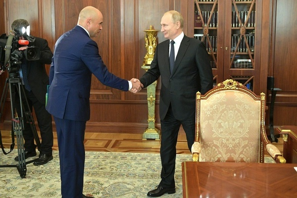 Встреча Владимира Путина и Игоря Артамонова подняла рейтинг Липецкой области