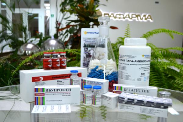 Липецкая «Рафарма» планирует наладить поставки лекарств в республики бывшего Советского Союза