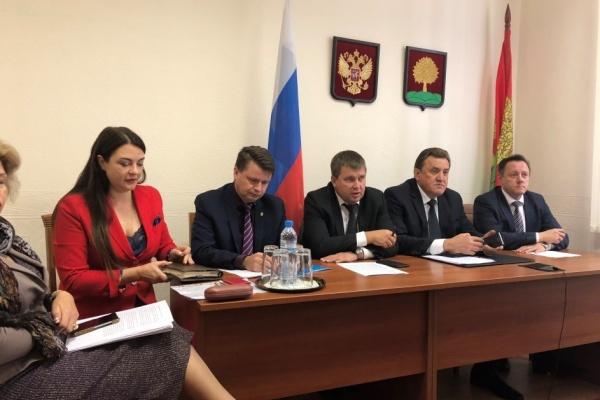 Липецкая область приняла участие в видеоселекторном совещании Министерства строительства и ЖКХ России