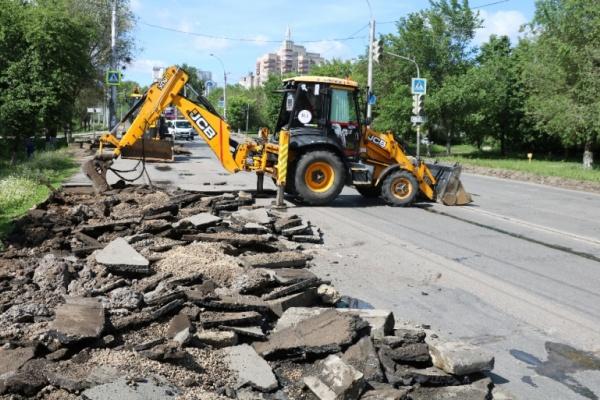 В канун 23 февраля в Липецке перекроют на реконструкцию часть Проспекта Победы
