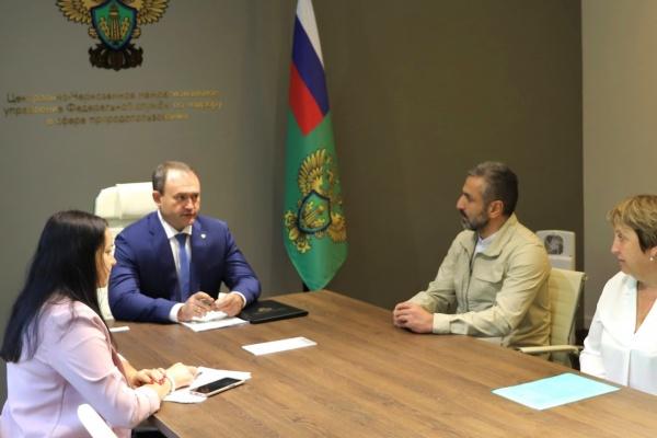 Глава Росприроднадзора Черноземья обсудил с липецким регоператором создание экотехнопарка