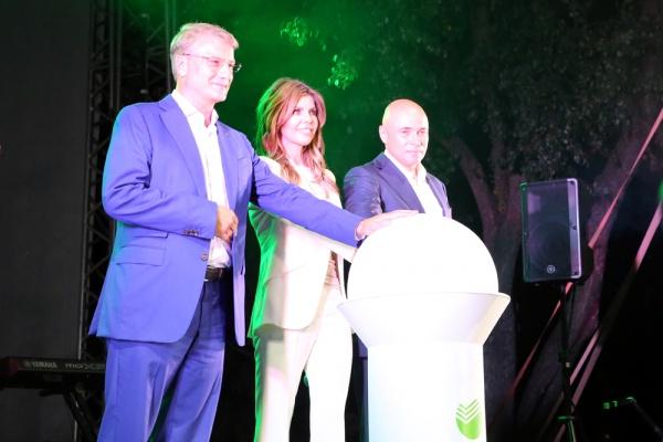 Президента Сбербанка Германа Грефа на открытии Быханова сада в Липецке удивила неизбалованность и энергетика липчан