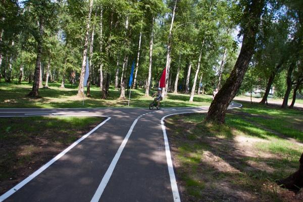 В Липецком районе к концу лета появится велодорожка протяженностью 5 км