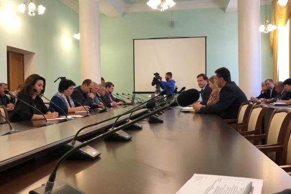 В Липецке обсудили вопрос сбора и утилизации отработанных шин