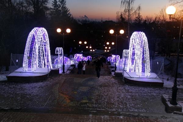 Липецкие власти потратят на освещение магистралей и иллюминацию 700 млн рублей