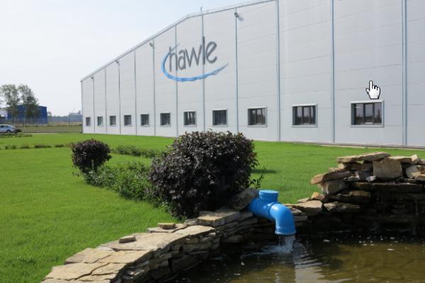 В Липецкой области презентовали завод крупнейшего производителя систем водоснабжения и водоотведения «Hawle»