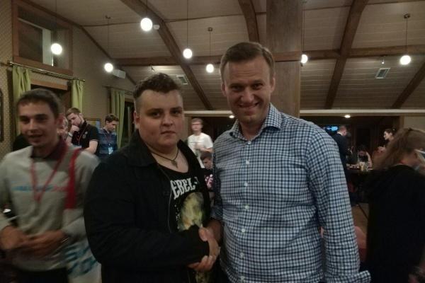 Алексей Навальный в Липецке готов выступить на коммерческой основе