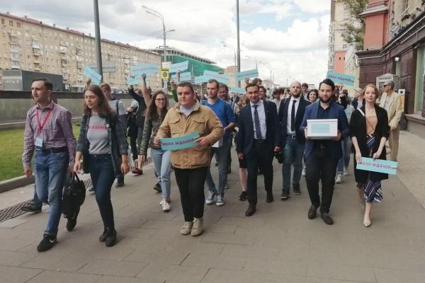 Активистов липецкого штаба Навального оштрафовали за неповиновение полиции