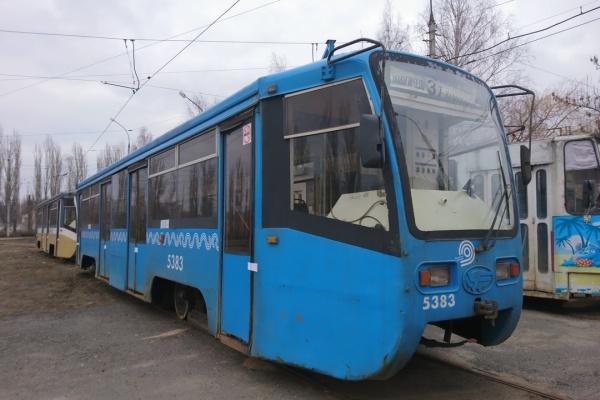 Подаренные Липецку «списанные» московские трамваи требуют ремонта на 2 млн рублей