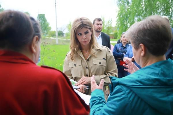 Мэр Липецка посетила с застройщиком отдалённые районы для решения вопросов благоустройства