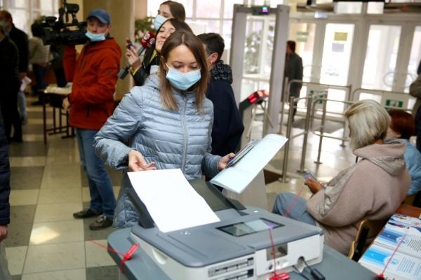 Явка на выборы в Липецкой области в первый день голосования приблизилась к 20 процентам