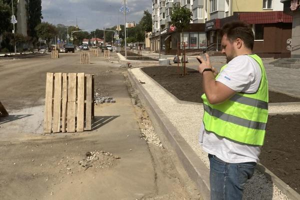 «Дорожный ревизор» проверил отсутствующие парковочные места и ливнёвки в Липецке