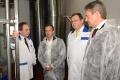 Вместо президента в Липецк приехали зампред правительства Аркадий Дворкович и министр Алексей Ткачев