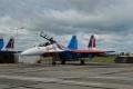 На военном аэродроме в Липецке загорелся штурмовик Су-25