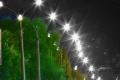 На Грязинском шоссе началось строительство сети наружного освещения за 500 тыс. рублей